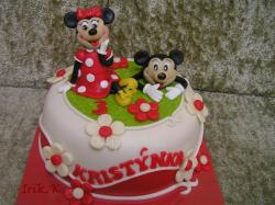 Minnie a Mickey Mouse