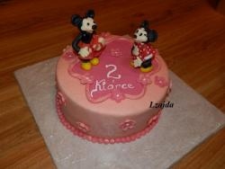 S Mickey Mousem a Minnie